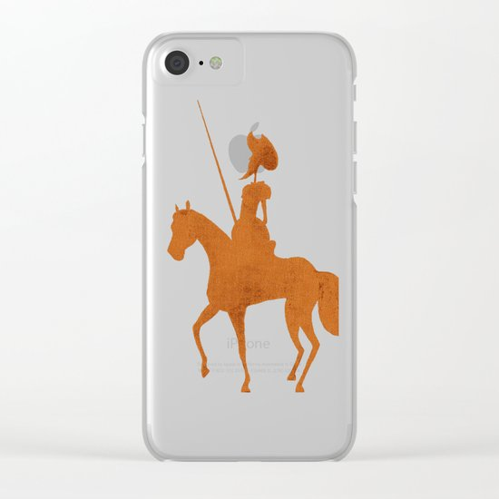 Books Collection: Don Quixote Clear iPhone Case