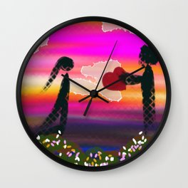I Give You My Heart Wall Clock