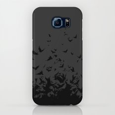 An Unkindness of Ravens (Grey) Slim Case Galaxy S6