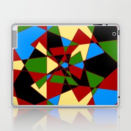 Shattered Multi-Color Geometric Laptop & iPad Skin