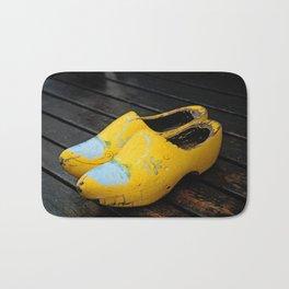 Wooden Shoes Bath Mat