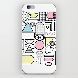 Shapes for Dayz iPhone Skin