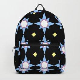symetric patterns 36 -mandala,geometric,rosace,harmony,star,symmetry Backpack
