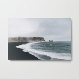 Coast / Iceland Metal Print