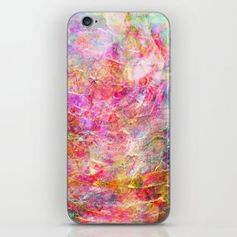 Serenity Abstract Painting iPhone Skin