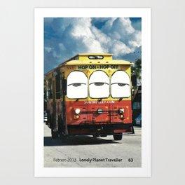 5X7 Trip / SF Art Print