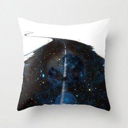 Galaxy Road Throw Pillow