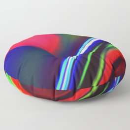 Seismic Folds Floor Pillow