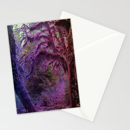 Deep in the Rainbow Forest Stationery Cards