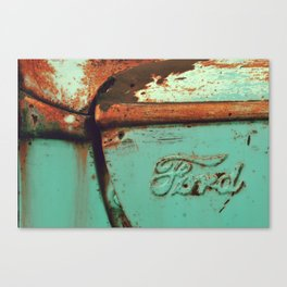 ford green Canvas Print