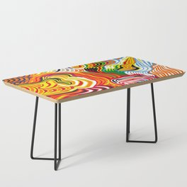 colored flow Coffee Table