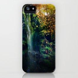 Mallyan Spout Waterfall iPhone Case