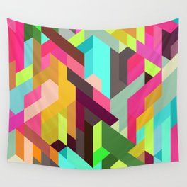 City 04. Wall Tapestry