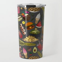 Summer BBQ Cookout Travel Mug