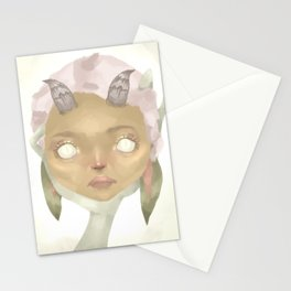 Hold me i'm scared Stationery Cards