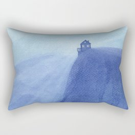 House on the rock, blue mountains Rectangular Pillow