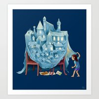 The Perfect Chair Fort Art Print