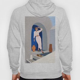 Summer in Santorini Hoody