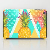 pineapples iPad Cases featuring Pineapples by Ornaart
