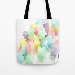 Pastel Abstract Tote Bag