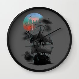 Journey to the Outworld Wall Clock