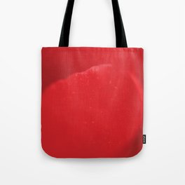 Red flower, macro photography, living room, kitchen, wall art, food, flowers Tote Bag