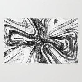 Abstract Cross - Watercolor Rug