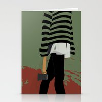 blood Stationery Cards featuring blood by Eda ERKOVAN