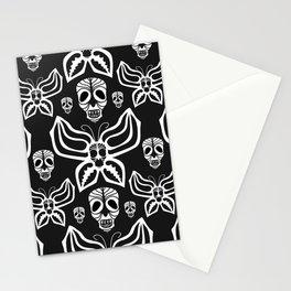 Butterfly skull. Stationery Cards