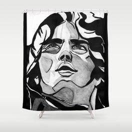 Mann Portrait  Shower Curtain