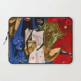 Ordeal of Alice by Jacob Lawrence African American Masterpiece Laptop Sleeve