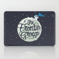 space cat iPad Cases featuring Space Cat by The Frontier Group