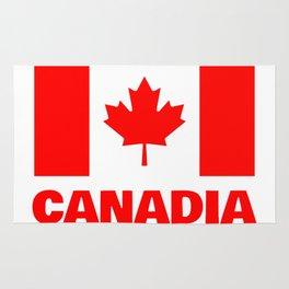Canadia - Canadan Flag Rug