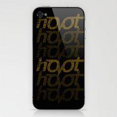 Hoot iPhone & iPod Skin