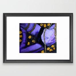 Laced Belle Framed Art Print