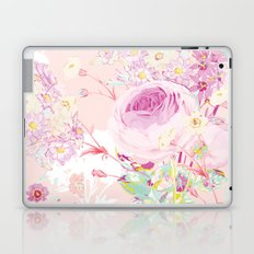 Flower bouquet in pink Laptop & iPad Skin