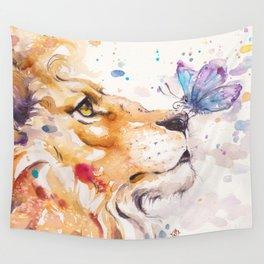 Finn's Lion Wall Tapestry