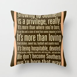 Southern Throw Pillow
