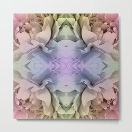 Seamles Tile from flowers Metal Print