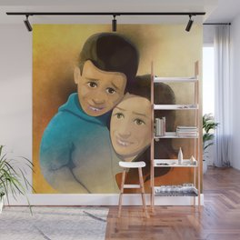 Mother And Son Wall Mural