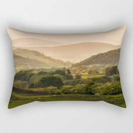 Sunny afternoon in Lake District Rectangular Pillow