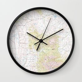 MT Ringling 268455 1993 topographic map Wall Clock