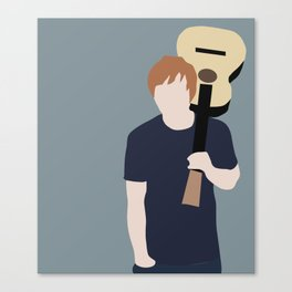 Ed // Billboard Canvas Print