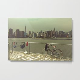 A Green Point Of View Metal Print