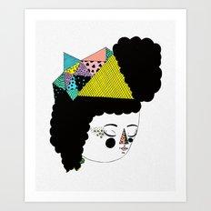 RainbowkitekidsStar Art Print
