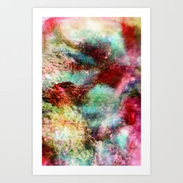 Passionate Flowers Art Print