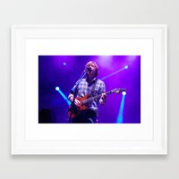 phish Framed Art Prints featuring Phish Trey Anastasio St. Louis 2012 by Ryan MacNeill Photography