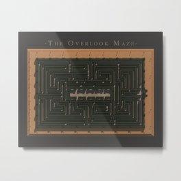 The Overlook Maze Metal Print