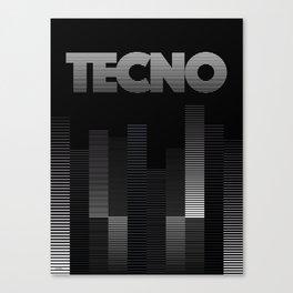 TECNO Canvas Print