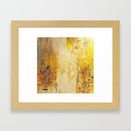 since the beginning we are... Framed Art Print